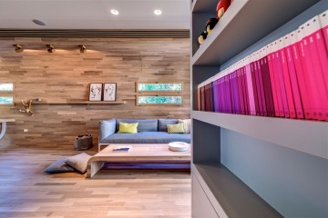 办公室装修休息区设计
