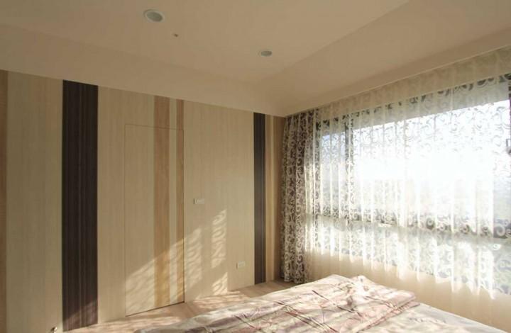 自然系简约风格二居装修设计