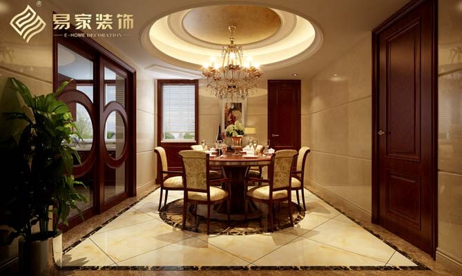 新中式古典风家居装修案例