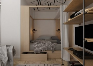 现代小户型室内装修 ...