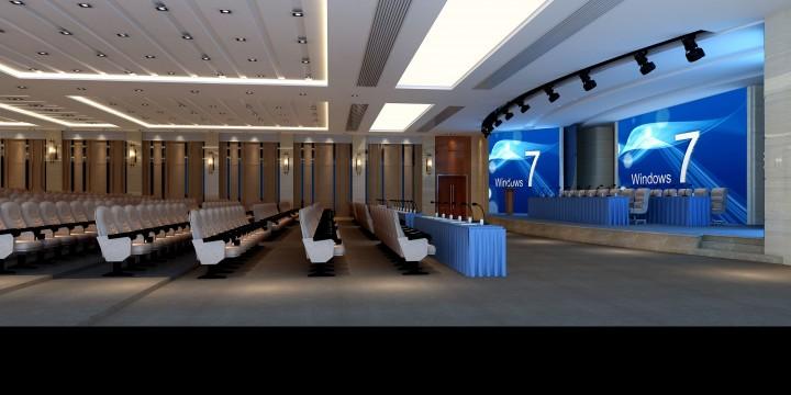 世银联会议中心工装效果图