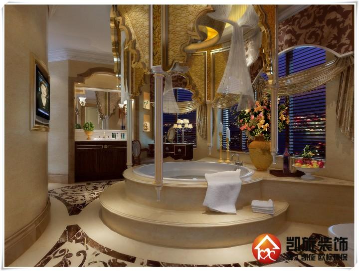 华润橡树湾东南亚风格别墅装修设计