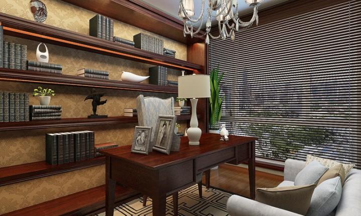 美式温馨风格室内装修分享