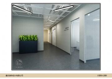 大源中国风办公室装修