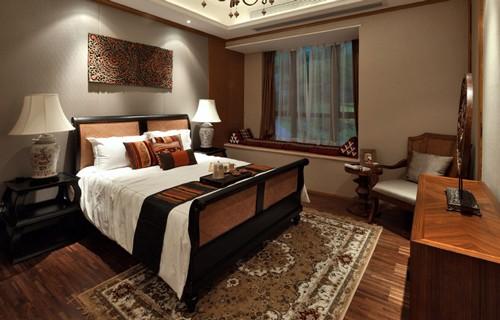 东南亚风格泰式三室装修效果图