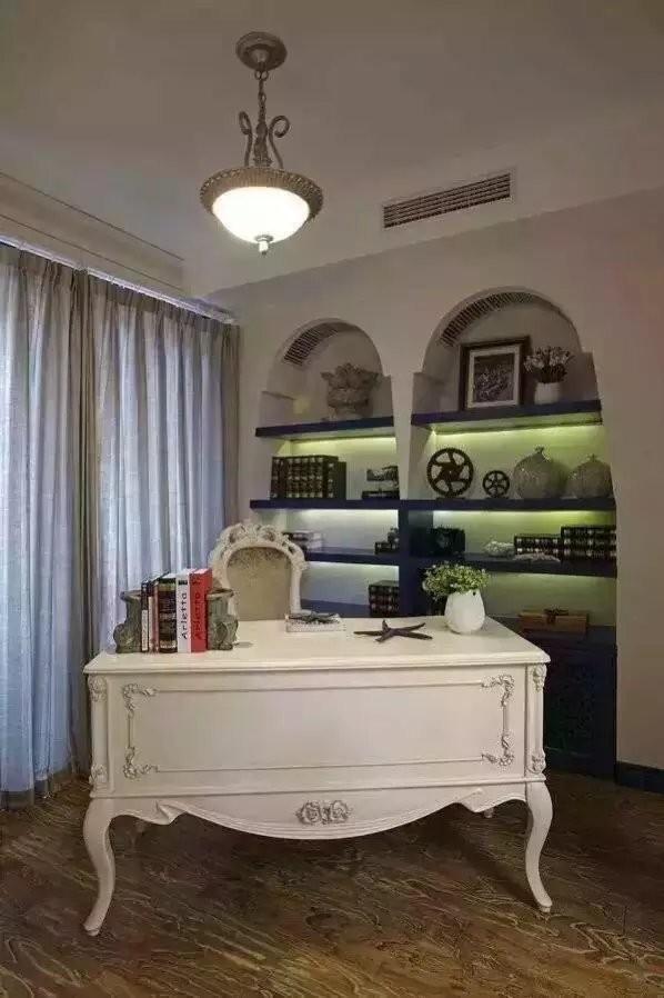 地中海风格二室装修设计_效果图