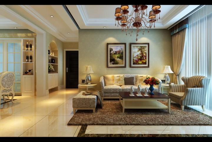 典雅新中式家装效果图大全