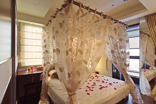 东南亚风格二室二厅装修设计效果图欣赏