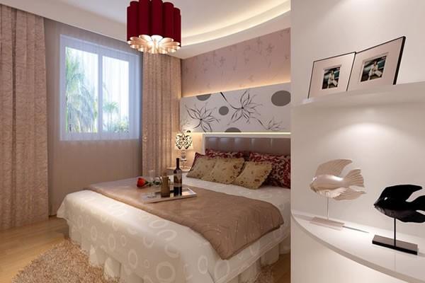 简约风格两居室装修案例效果图