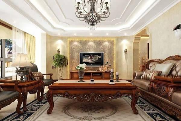 美式风格四居室装修设计效果图大全