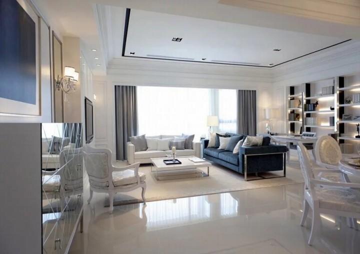 现代简欧风格家居装修效果图大全