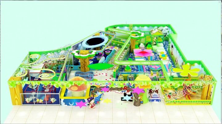 星颐广场儿童游乐园工装设计
