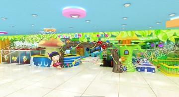 星颐广场儿童游乐园效果图