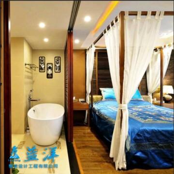 东南亚风情家装设计效果图案例