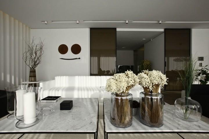 现代简约风格别墅精致装修效果图