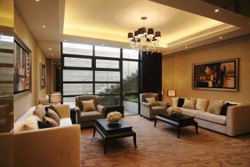 会所工装设计效果图欣赏大厅
