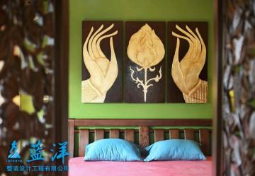 东南亚迷情二居室装 ...