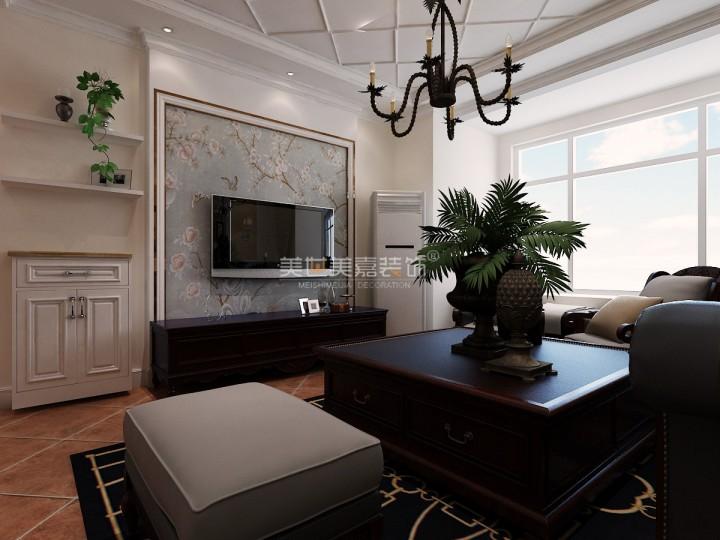 后现代风格三居室设计装修效果图