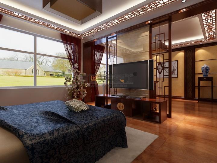 中式典雅风格别墅豪华装修效果图