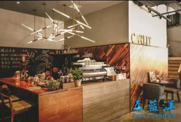 90平米文艺小清新咖啡馆装修工作台