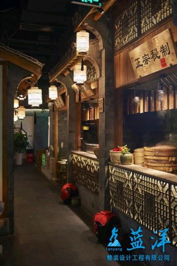 复古风味餐馆装修案例门面欣赏