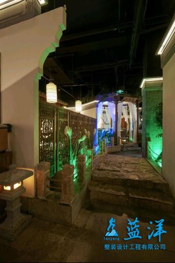 复古风味餐馆装修案例欣赏
