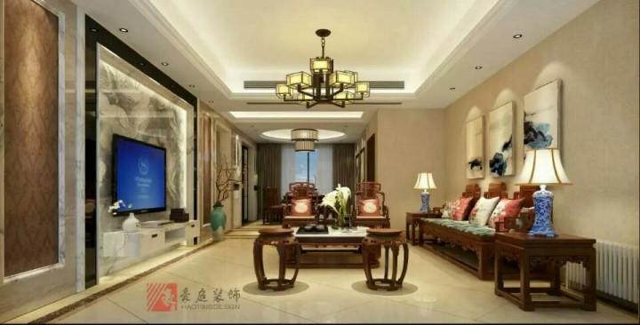 中式风格复式设计装修案例