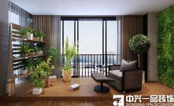 时尚现代风格三居室设计样板间