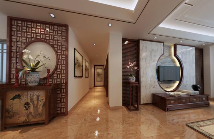 新中式风格室内设计样板间