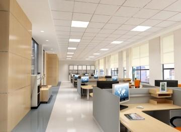 办公室大方时尚工装设计图办公厅