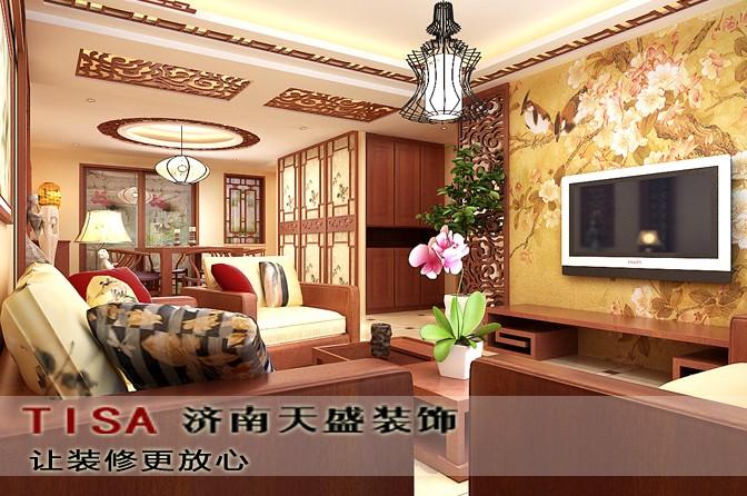 中式风格典雅家装效果图案例