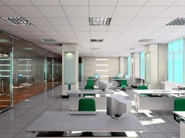 办公室大方时尚工装设计图