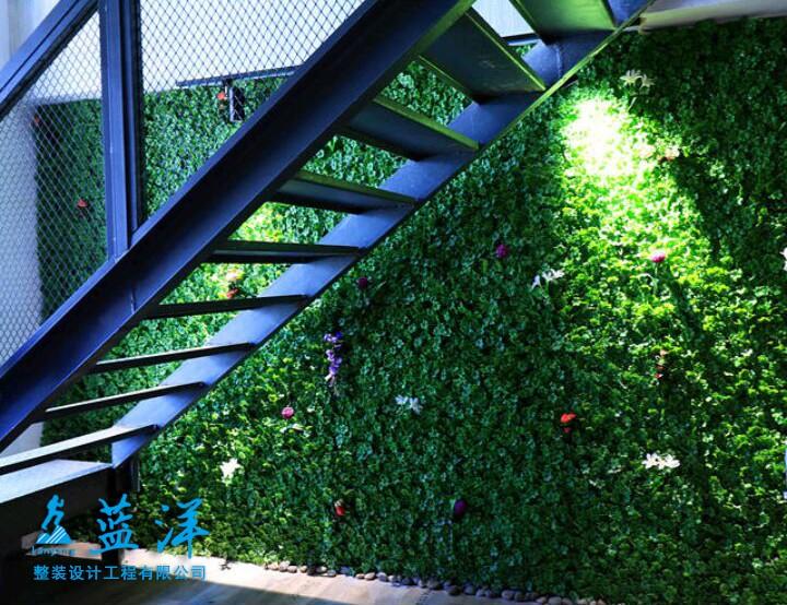 自然清新舒适办公室装修案例欣赏