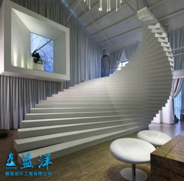 北欧时尚办公室装修案例欣赏