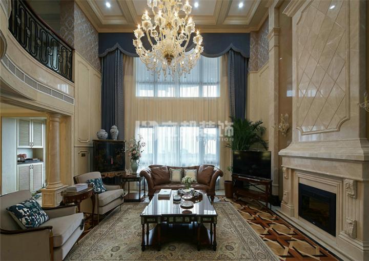 新中式风格室内装潢设计图