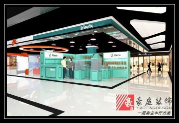 一层商业中厅超市装修设计效果图