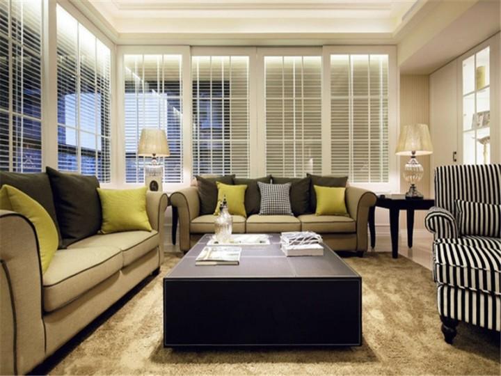 田园风格三居室装修设计图欣赏
