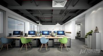 中式风格办公区域