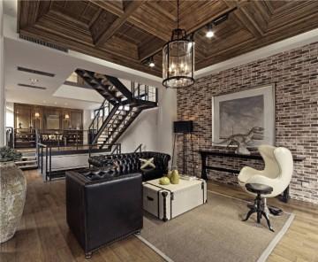 后现代风格别墅装修 ...