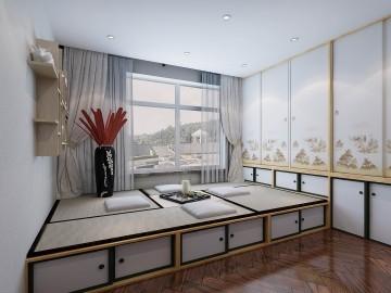 簡歐風格三室裝修設計圖