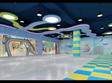 海滨城儿童游乐园装修实景图