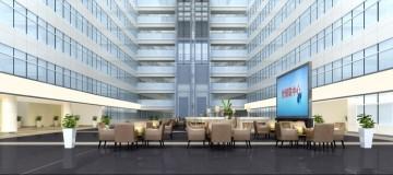 世银联会议中心办公楼装修图片案例