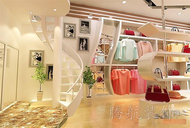 服装店装修设计搭配图方案