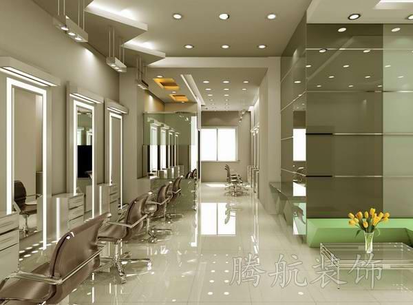 创意美发店装修设计效果图欣赏