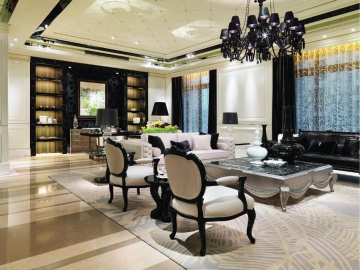 罗马都市简欧风格家庭装修设计