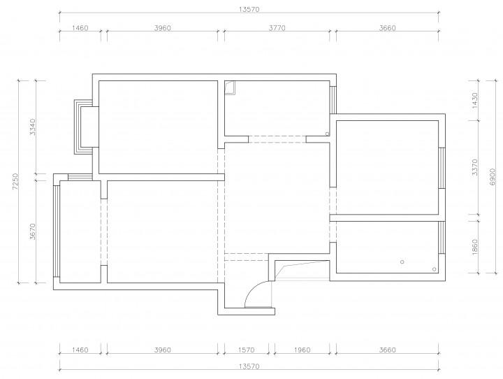 情迷地中海二居室装修设计效果图
