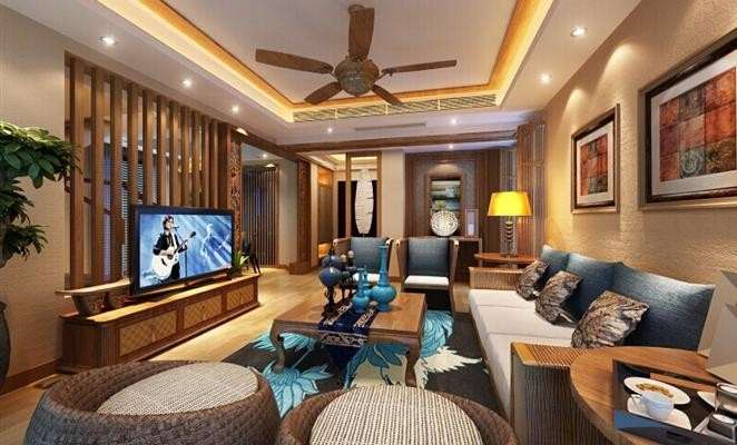 简欧风格房屋装修设计效果图