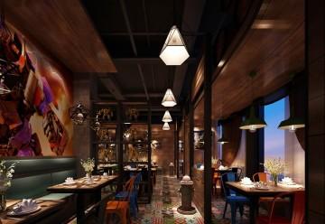 变形金刚主题餐厅工装案列赏析