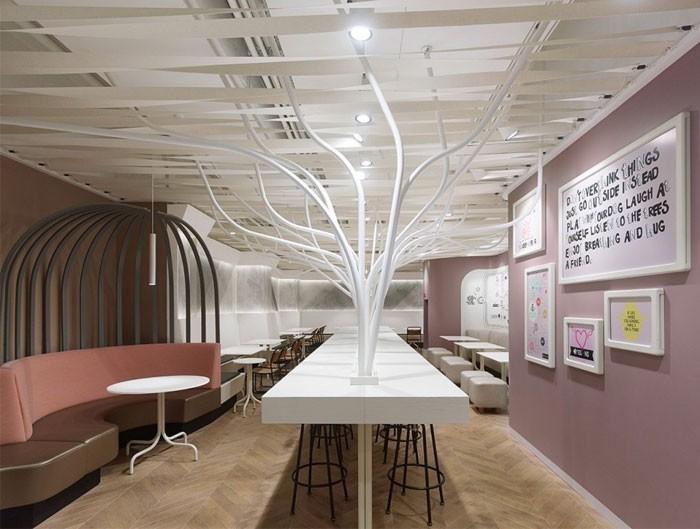 现代时尚餐厅装修设计图片