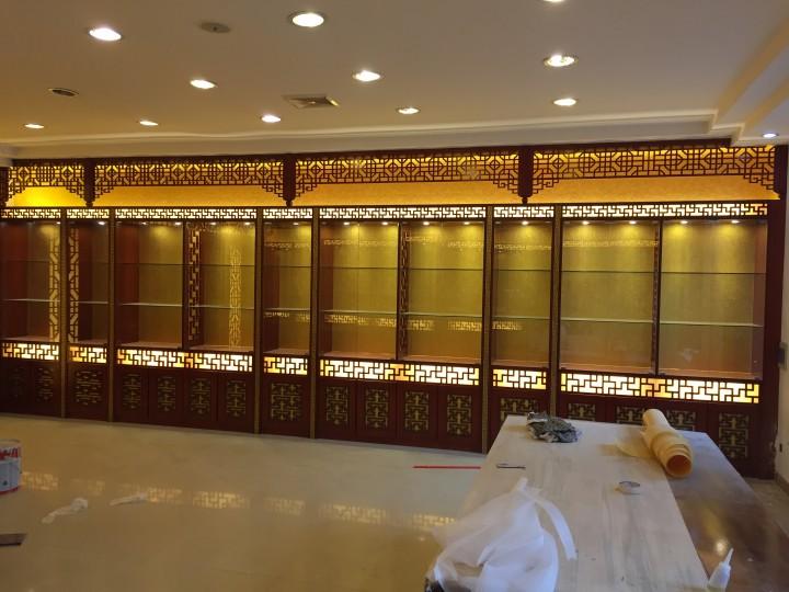 中式茶楼装修实景图案例